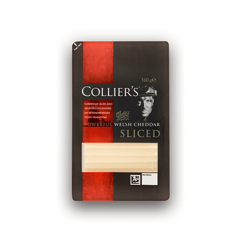 Colliers Cheese Collier's Sliced