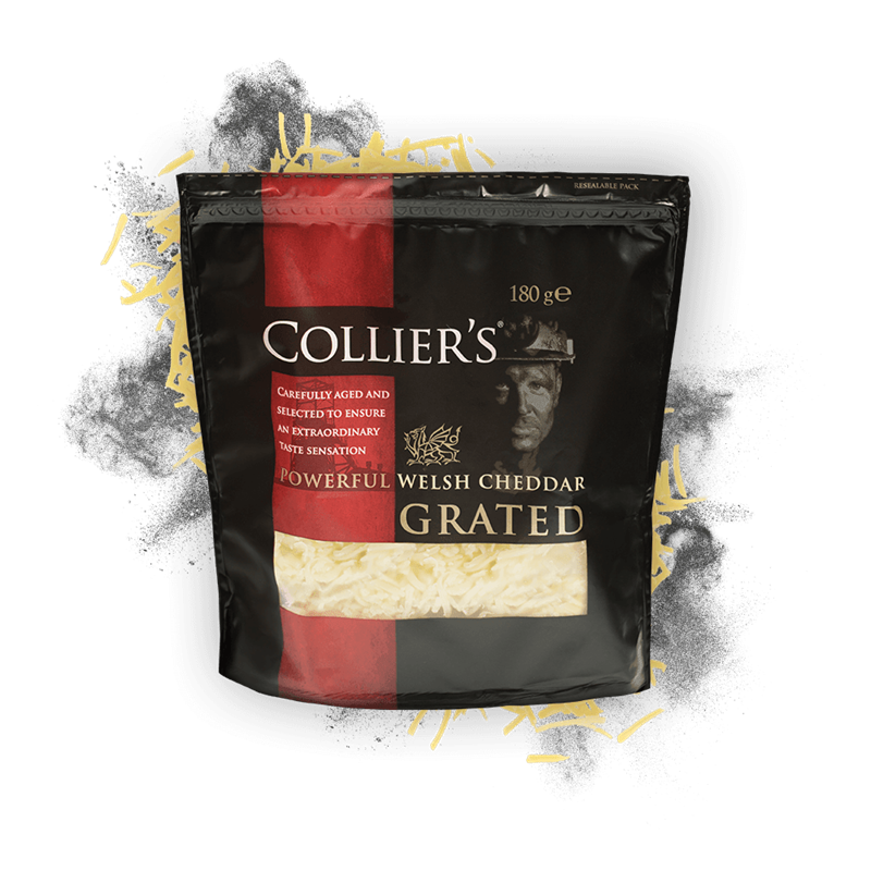 Colliers Cheese Collier's Grated
